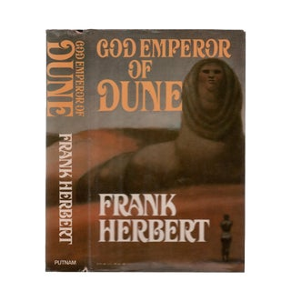 "1981 ""God Emperor of Dune"" Collectible Book For Sale"