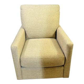 Bassett Trent Swivel Glider Chair For Sale