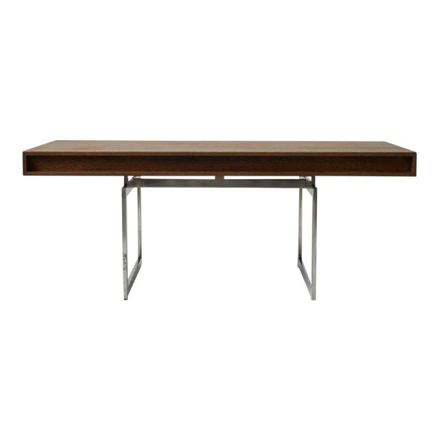 Wenge Bodil Kjaer Desk by E Pederseon and Sons For Sale