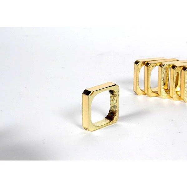 Bucklers 5th Ave Napkin Rings- Set of 12 For Sale - Image 5 of 7