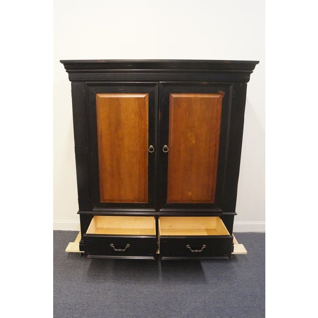 20th Century Traditional Hooker Furniture Armoire For Sale In Kansas City - Image 6 of 13