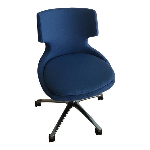 Modern Soho Concept Patara Wool Upholstered Desk Chair For