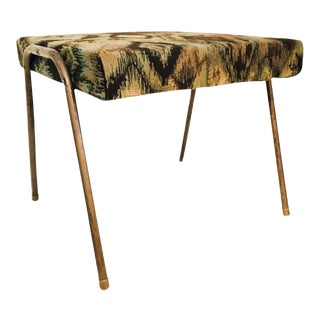1950's Mid-Century Modern Footstool For Sale