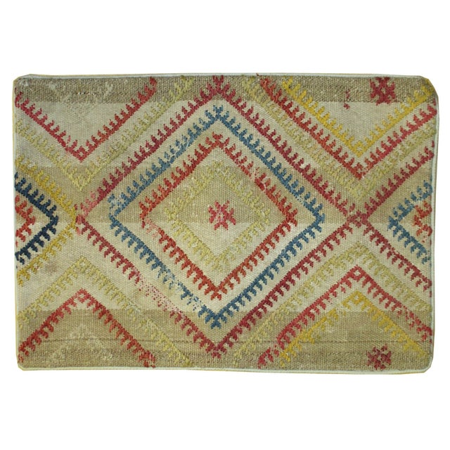 Vintage 1960s Turkish Kilim Pillow Cover - Image 1 of 4