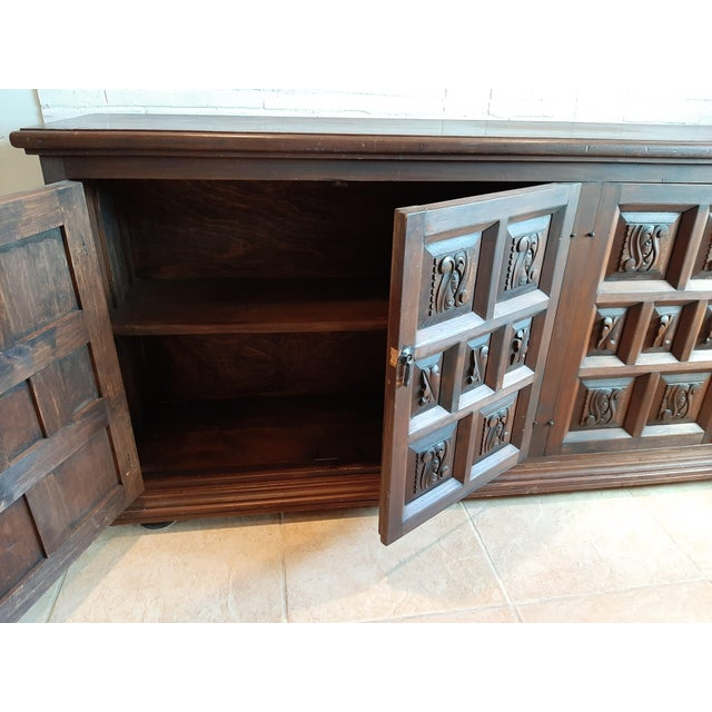 Vintage Artes De Mexico Sideboard For Sale In Milwaukee - Image 6 of 10