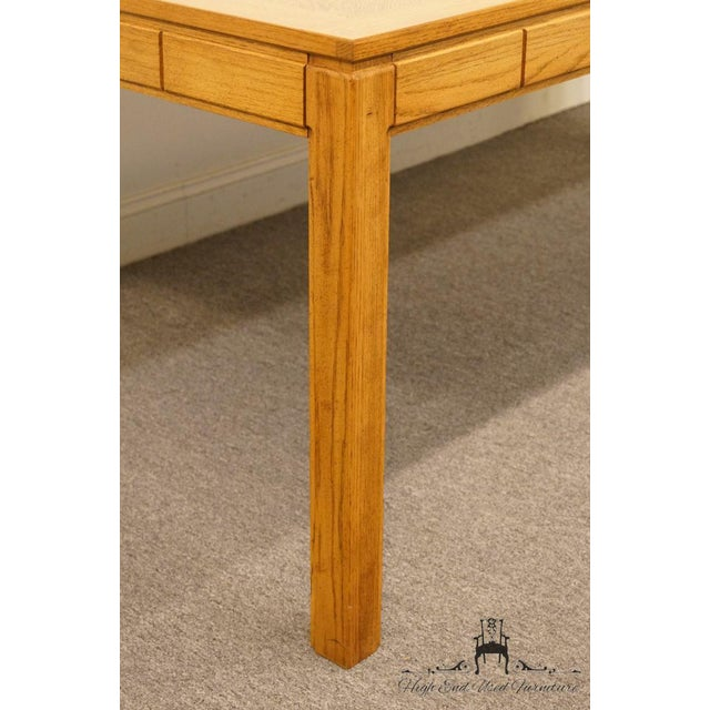 "Thomasville Furniture New Country Collection 84"" Dining Table For Sale - Image 10 of 13"