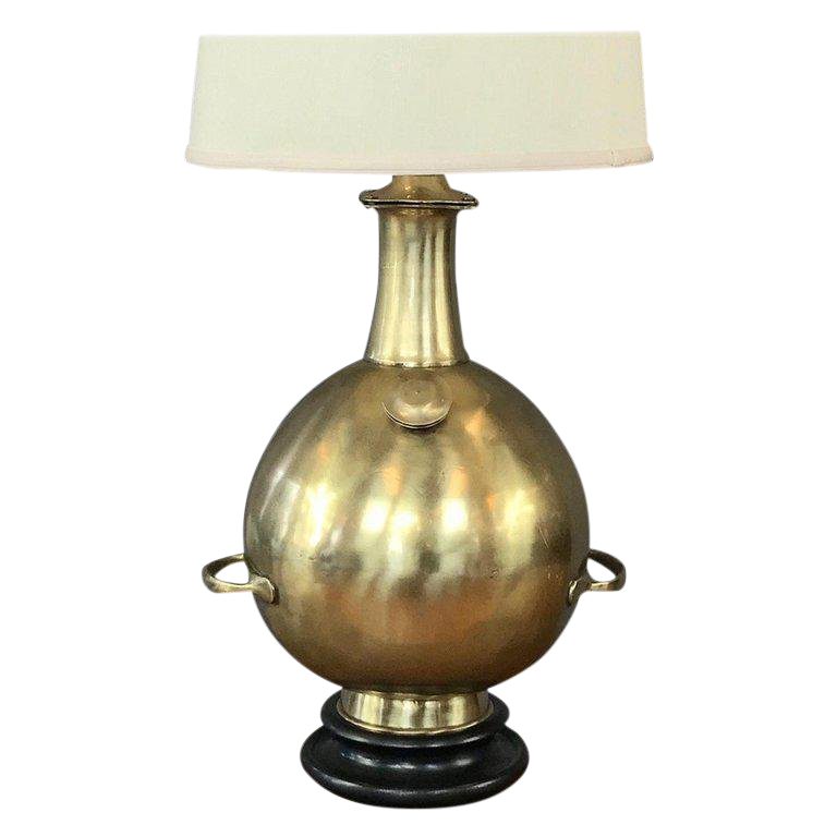 Marbro Monumental Solid Brass Diving Bell Table Lamp Chairish