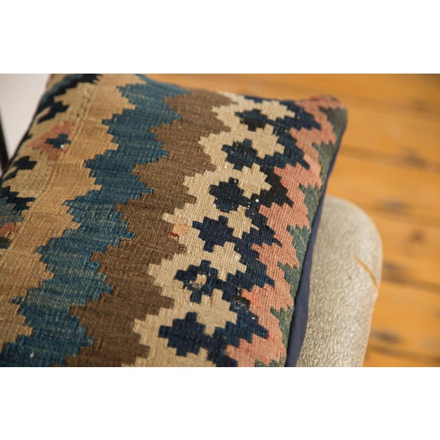 Antique Kilim Throw Pillow For Sale In New York - Image 6 of 7