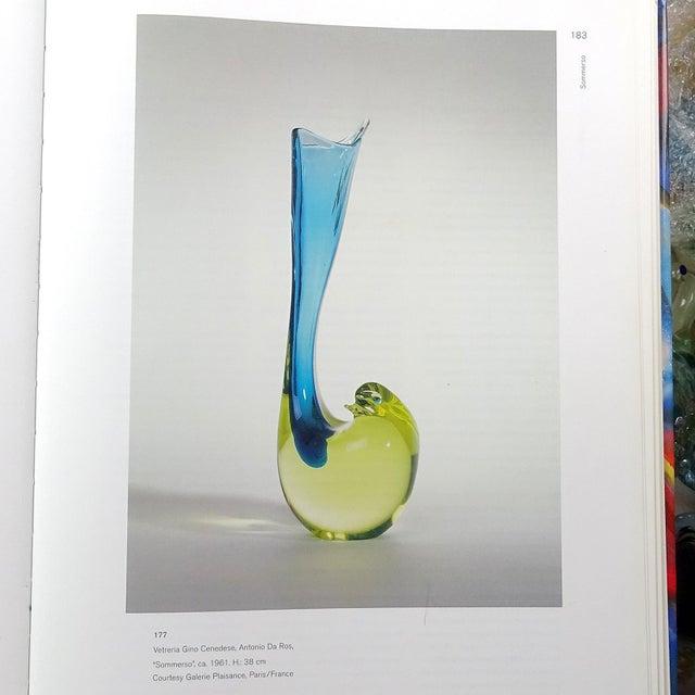 Cenedese Murano 1961 Sommerso Red Gray Italian Art Glass Bird Sculptural Vase For Sale - Image 9 of 10
