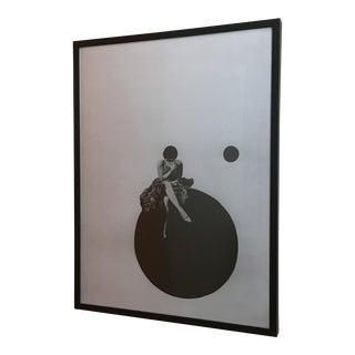 Framed Modernist Print For Sale