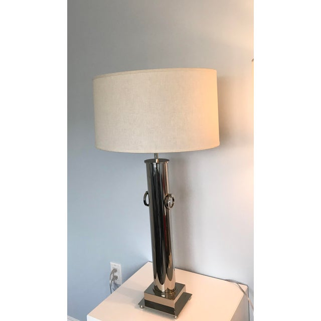 Restoration Hardware Table Lamp - Image 3 of 5