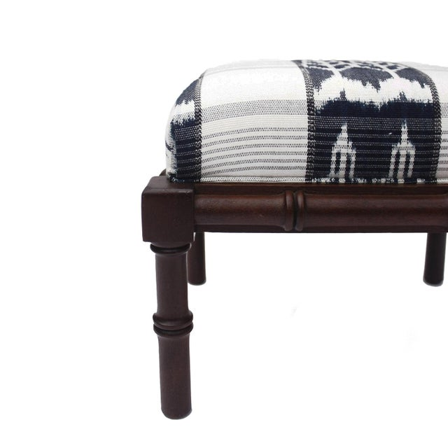 Start a collection! footstools look great in groups! The perfect accent, this vintage bamboo style footstool has been...
