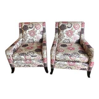 Mitchell Gold & Bob Williams Club Chairs - A Pair
