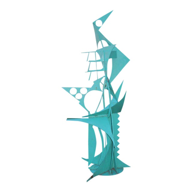 Waylande Gregory Iron Bird Sculpture For Sale