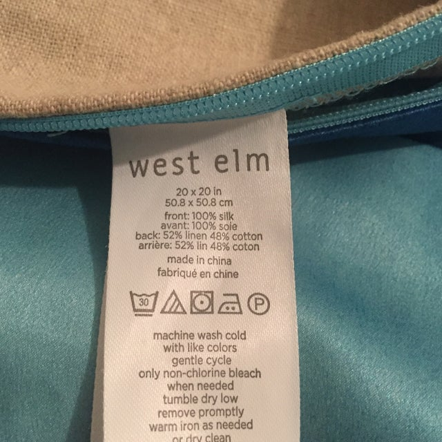 West Elm Roar + Rabbit Colorblock Pillow Cover - Image 7 of 7
