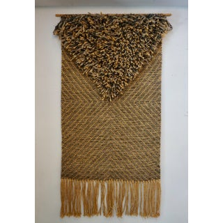 1970's Woven Tapestry by Eve Rabinowe