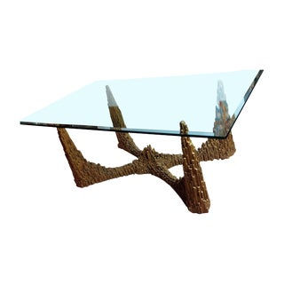 Brutalist C.1960s Skyscraper Dining Table For Sale