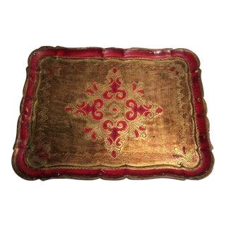 Vintage Italian Florentine Gilded Tray