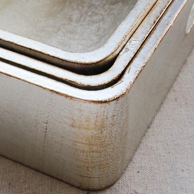 4-Piece Florentine Silver-Gilt Nesting Trays - Image 4 of 11
