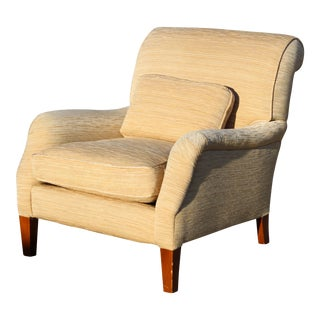 Late 20th Century Vintage Contemporary Club Chair For Sale
