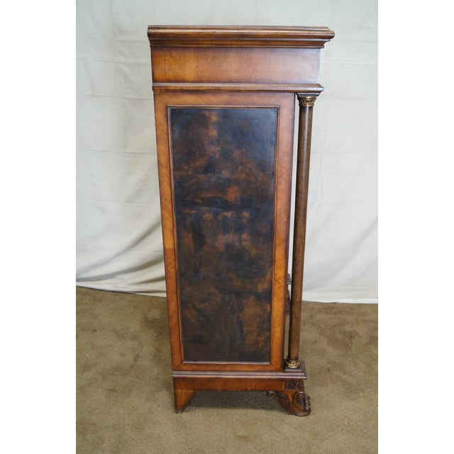 Empire Empire Style Claw Foot Tall Chest For Sale - Image 3 of 10