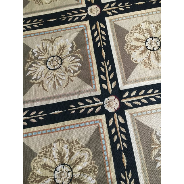 Stark Aubusson Rug- 6′ × 9′3″ For Sale - Image 9 of 13