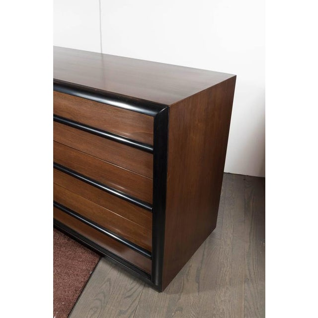 Outstanding Mid-Century Modernist Chest of Drawers by T.H. Robsjohn-Gibbings For Sale In New York - Image 6 of 9