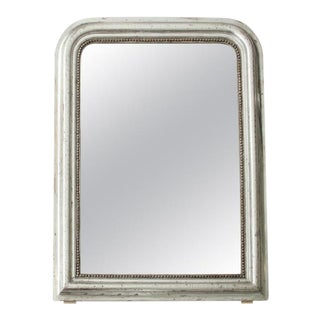 Silvered Louis Philippe Mirror For Sale