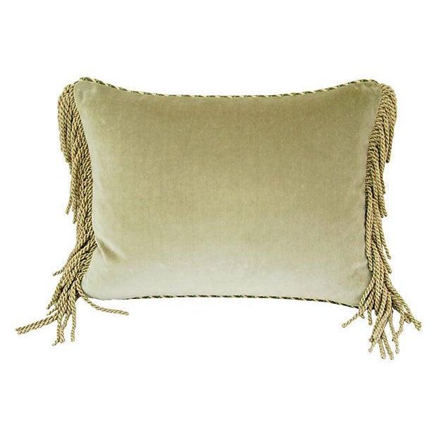 Custom Brunschwig & Fils Bird & Thistle Pillow - Image 5 of 5
