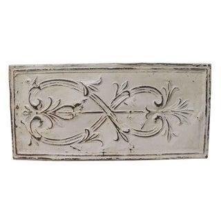 Decorative Horizontal Tin Panel For Sale