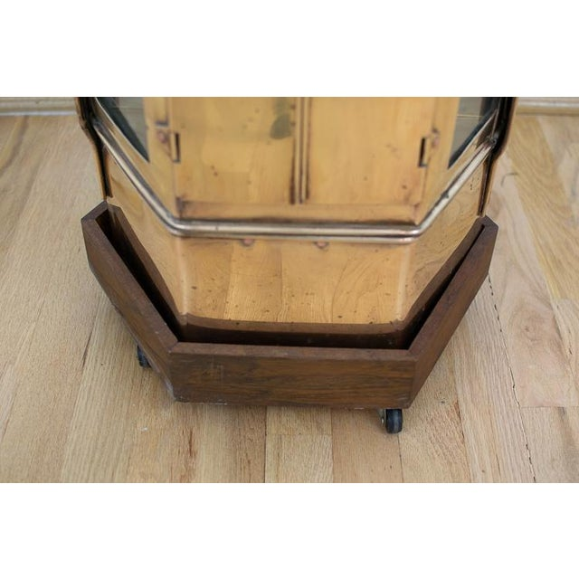 Mid-Century Brass Asian Noodle Cart For Sale In Washington DC - Image 6 of 12