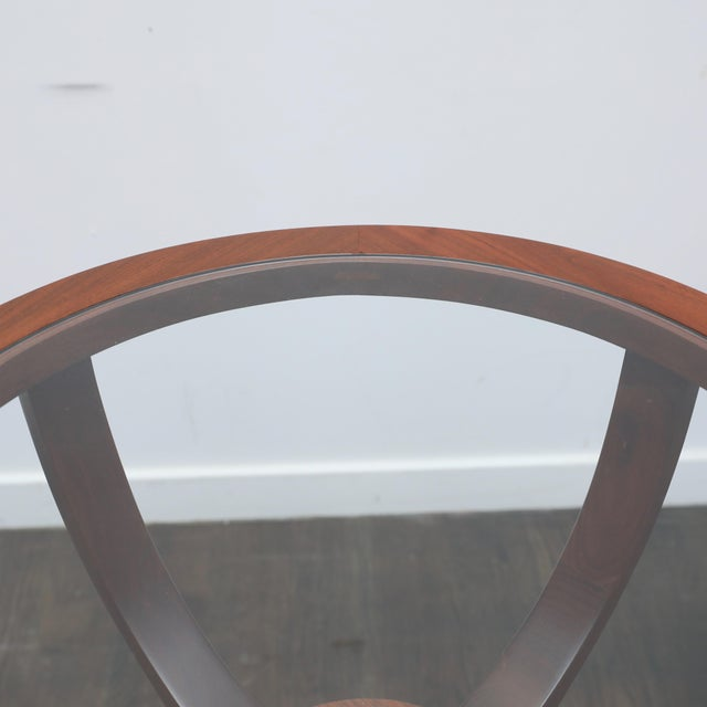 Mid-Century Modern Jlindrich Halabala Style Side Table For Sale - Image 3 of 7