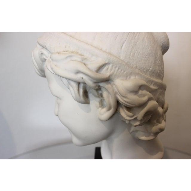 "Vintage Carpeaux Sculpture ""Neopolitan Fisherboy"" 1857 on Revolving Base For Sale - Image 9 of 11"