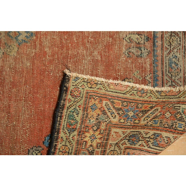 "Antique Fereghan Rug - 3'7"" X 6'1"" - Image 7 of 8"