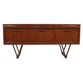 Teak Effect Dresser or Credenza by Elliots of Newbury For Sale