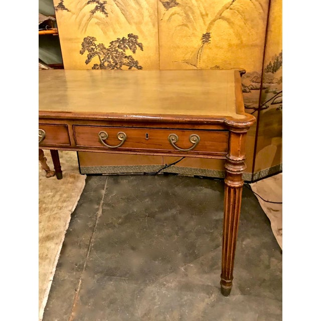 Georgian 1810s Regency Mahogany Writing Table For Sale - Image 3 of 13