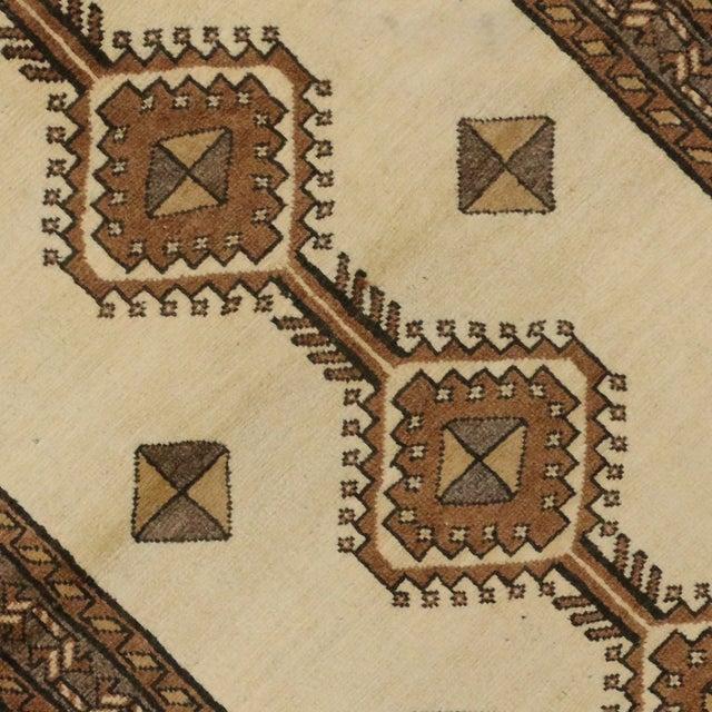 "Vintage Persian Shiraz Rug - 3'5"" x 6'9"" For Sale - Image 4 of 11"
