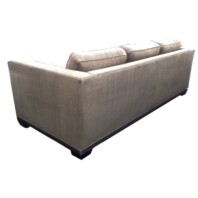 "Baker ""Modern Reed"" Sofa by Barbara Barry - Image 5 of 9"