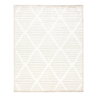 Stark New Oriental Tibetan Wool Rug - 8′× 10'
