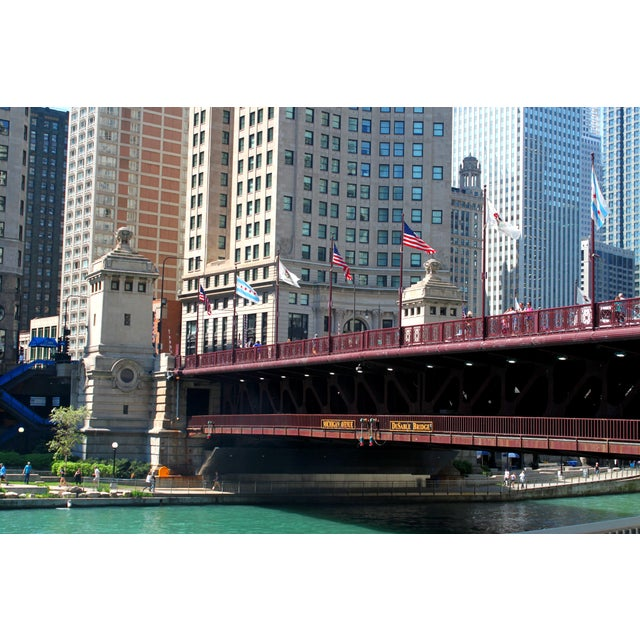 Realism Chicago Bridge Photograph For Sale - Image 3 of 3