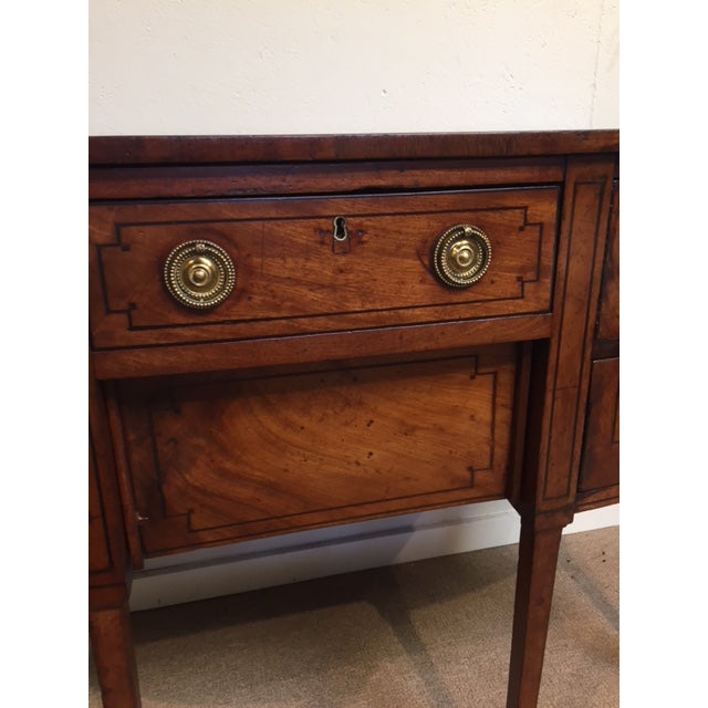 Late 18th Century 18th Century Georgian Bowfront Sideboard For Sale - Image 5 of 12