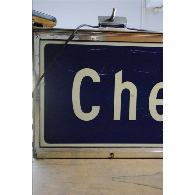 6 Feet Chevy Chase Subway Sign Chairish