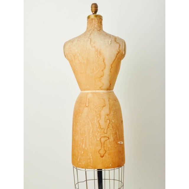 Vintage Bauman Model Dress Form Ladies Mannequin - Image 4 of 8