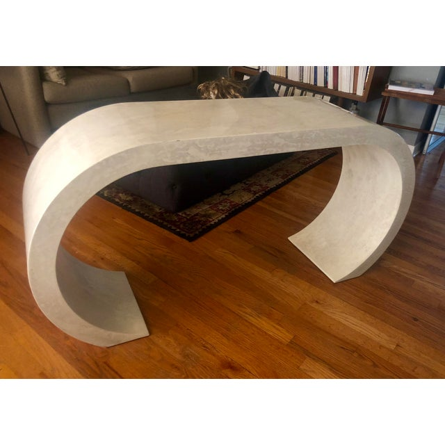 This is such a fun piece of furniture that always starts conversation. It is similar to Karl Springer designs with a...