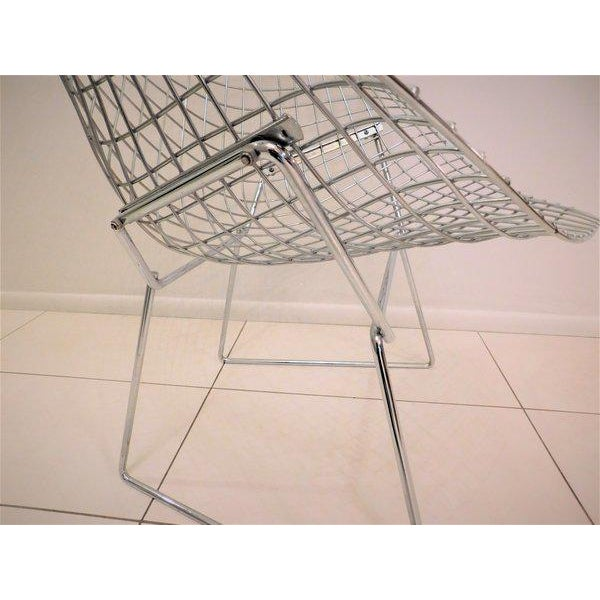 Original Bertoia Diamond Wire Chair in Chrome by Knoll - Image 9 of 9