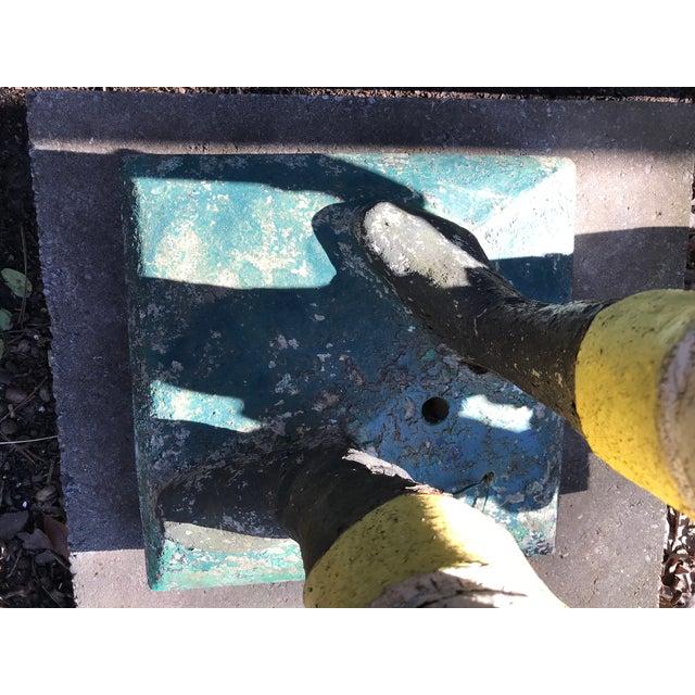 Concrete Concrete Lawn Jockey Statue For Sale - Image 7 of 8