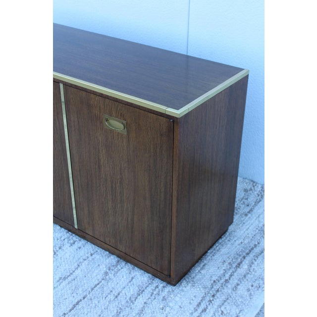 Brown Mid-Century Modern Baker Credenza For Sale - Image 8 of 11