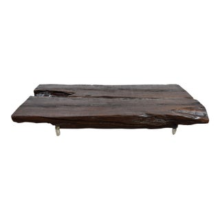 Live Edge Modern Coffee Table - Tree Root