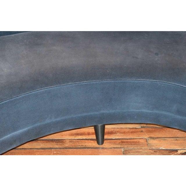 1950s Vintage Federico Munari Italian Curved Sofa For Sale In Dallas - Image 6 of 12
