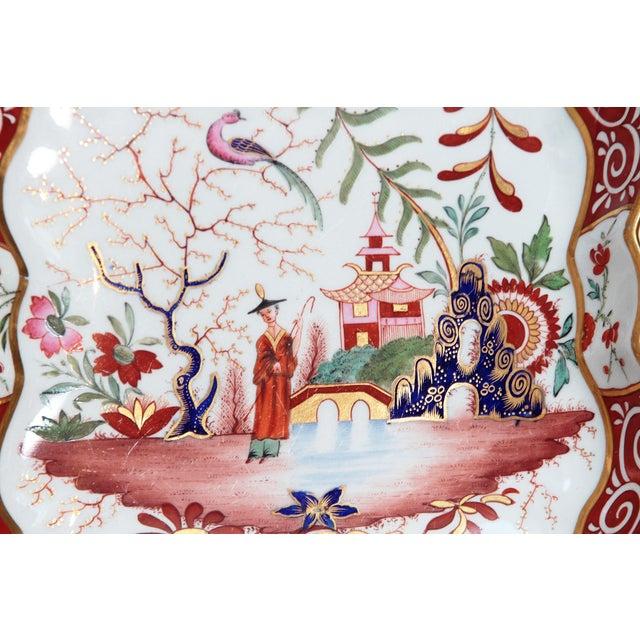 Ceramic Chamberlain's Worchester, Flight, Barr and Barr Porcelain Dessert Service For Sale - Image 7 of 11